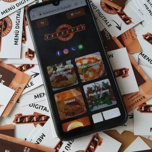 bakayoko menu digitale con qr code di attivazione