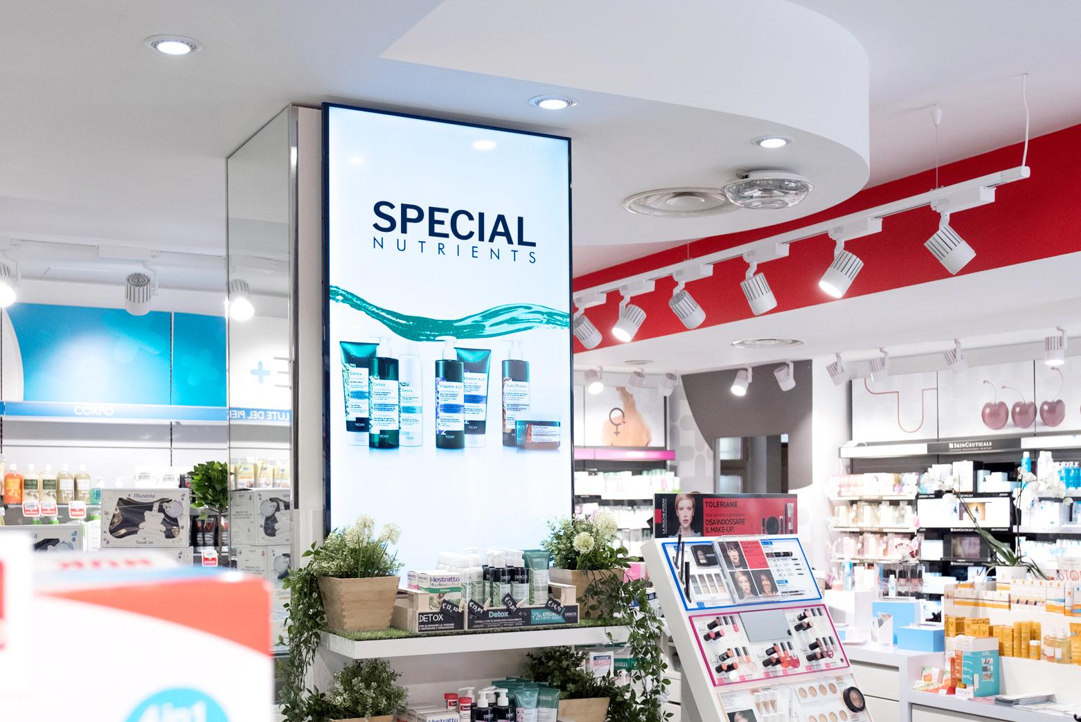 display per farmacie touchscreen e touchless differenze hubanero