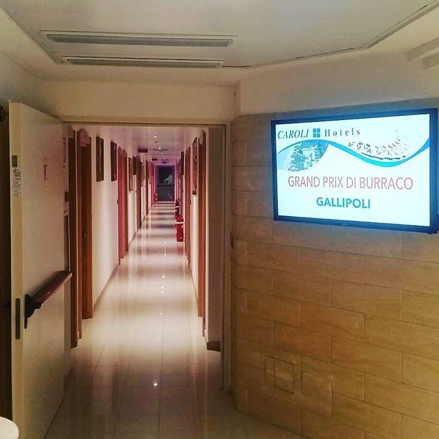 caroli hotels gallipoli display interattivi comunicazione istituzionale