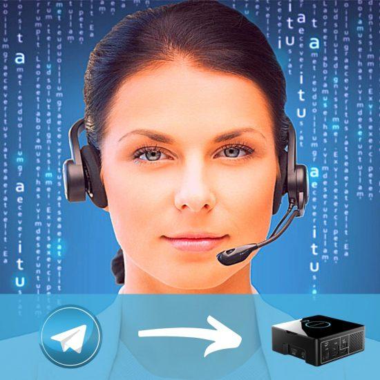 assistente virtuale ufficio sala d'attesa hubanero lecce