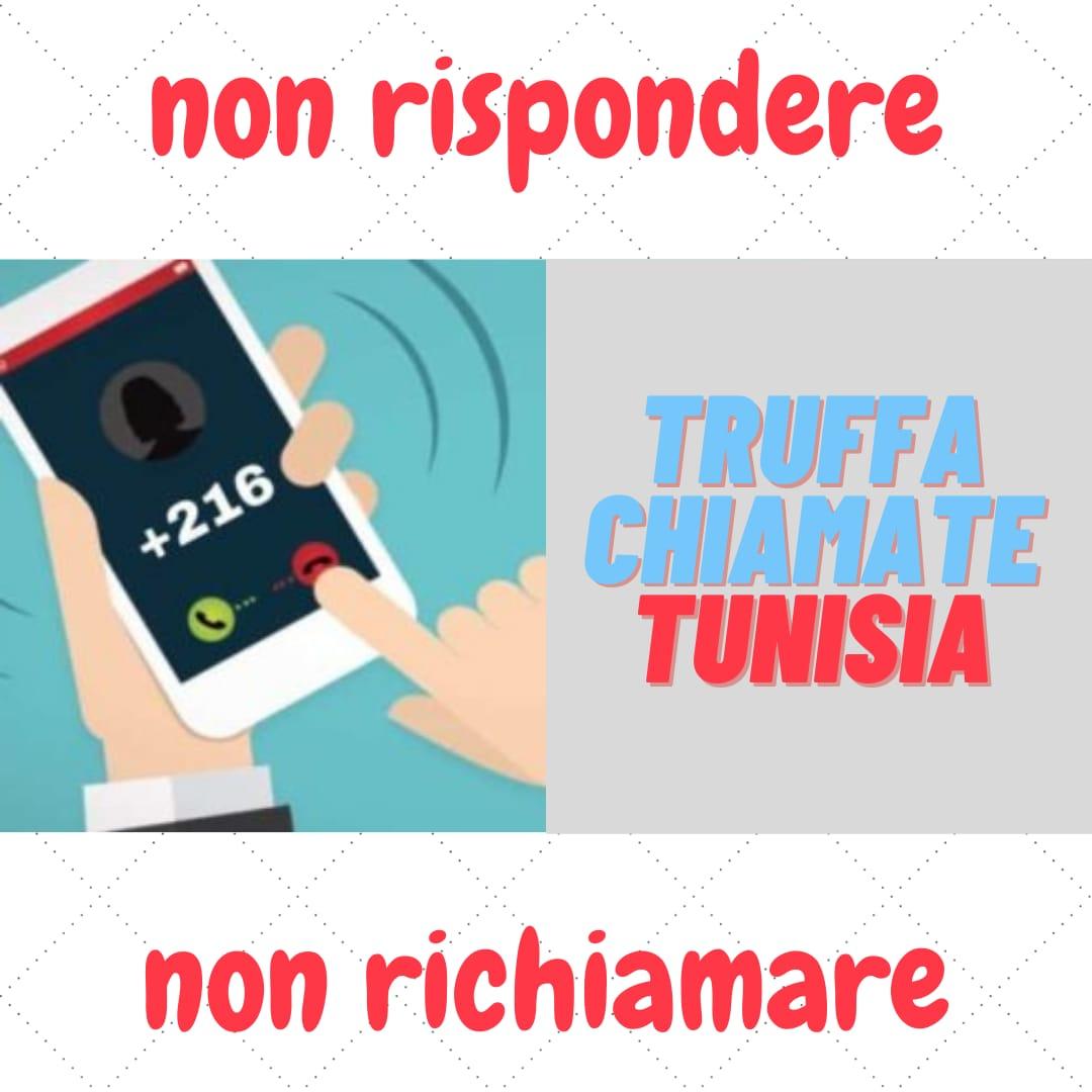 Prefisso +219: truffa telefonate dalla Tunisia