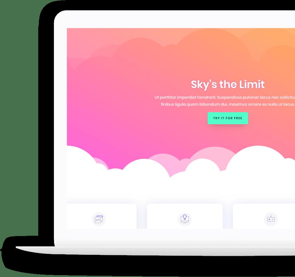 digital signage hubanero sito internet responsive  lecce e provincia computer portatile laptop con nuvole cloud